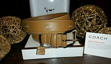 New Coach Charm Dog Collar FS8848 Size XL