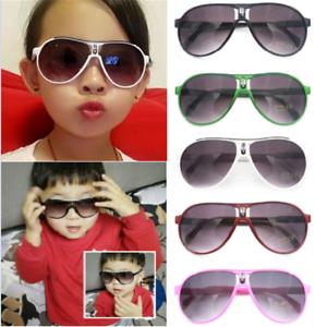 16906c64c0 Fashion ANTI-UV Kids Sunglasses Child Boys Girls Shades Baby Goggles ...