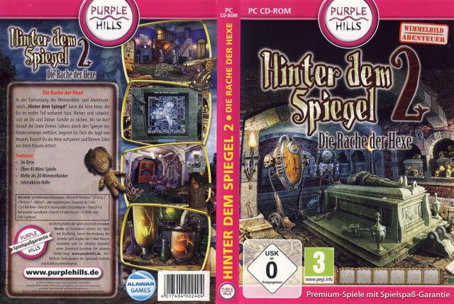 Hinter dem Spiegel 2: Die Rache der Hexe * Wimmelbild-Spiel * (PC, 2012, DVD-Box