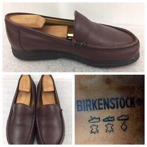 BIRKENSTOCK-FOOTPRINTS-Brown-Leather-SlipOn-Loafers-Size-38-EUR-7-5-US-Portugal
