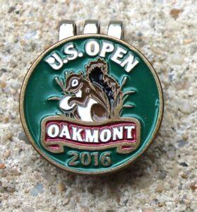 2016 US OPEN OAKMONT CLASSIC Logo Golf Ball Marker Hat Cap Clip ... 88c0c893f97a