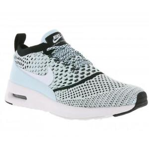 2d7d10a2a9c8 Womens Nike Air Max Thea Ultra Flyknit Running Trainers 881175 400 ...