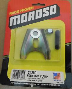 Moroso-26200-HD-Distributor-Holdown-W-stud-Gold-Steel