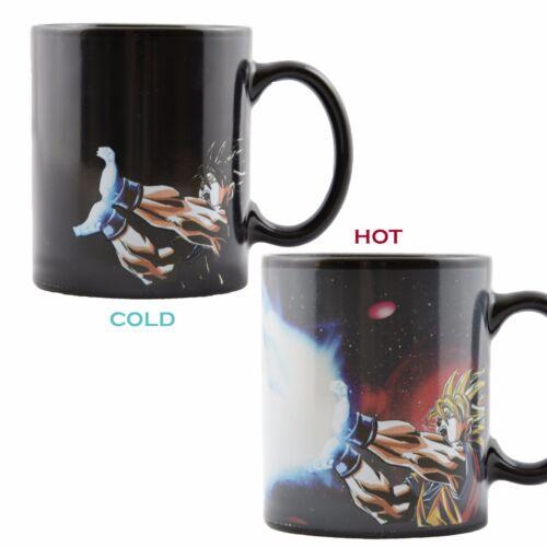 1pcs Dragon Ball Z Goku Heat Reactive Color Changing Ceramic Coffee Cup MugGift
