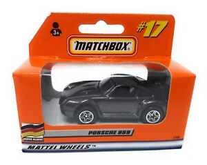 Matchbox-MBX-Superfast-1999-Nr-17-Porsche-959-dunkelgrau-met-Deutsche-Ausgabe