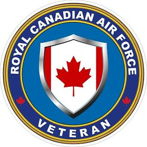 Royal-Canadian-Air-Force-RCAF-Veteran-Vet-Decal-Sticker