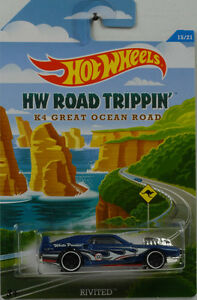 HW-Road-Trippin-k4-Ocean-Road-rivited-1-64-Hot-Wheels-EE-UU-cbj03