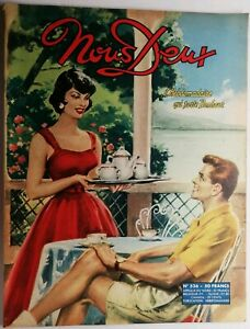 177 Revue Hebdomadaire Nous Deux N 536 de 1957 | eBay