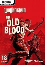 Wolfenstein: The Old Blood (PC-DVD) BRAND NEW SEALED