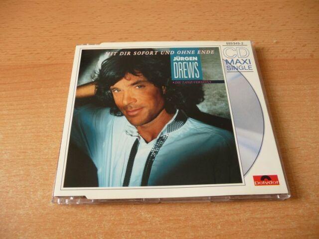 Maxi CD Jürgen Drews - Mit Dir sofort und ohne Ende - 1989