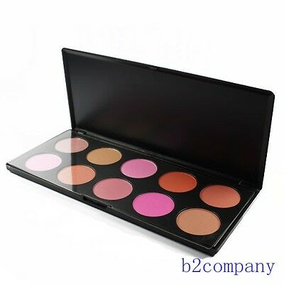 Professional 10 Color Blush Palette Matte Eyeshadow 10 Color Blush Palette