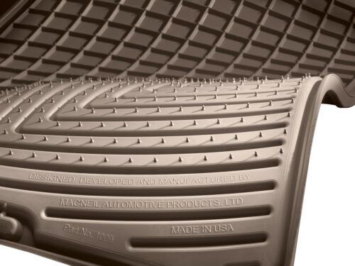 WeatherTech Custom All-Weather Floor Mats for Mercedes-Benz GLE /& GLS 2016-2019