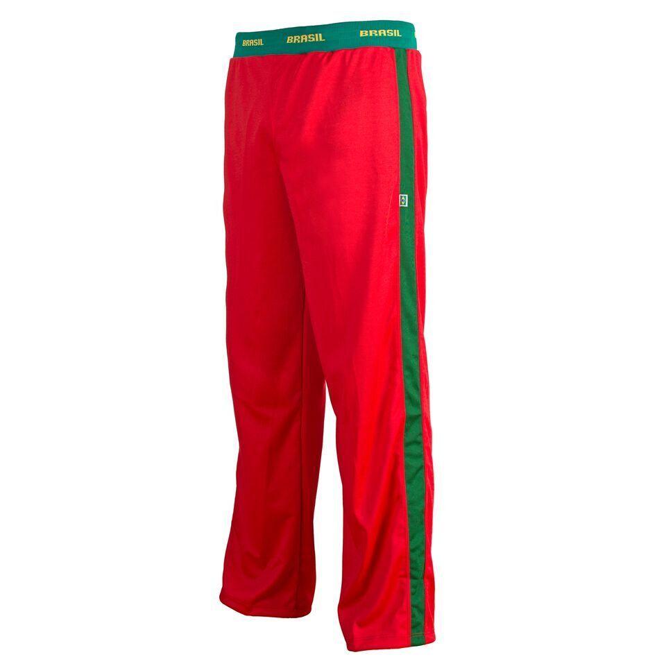 Unisex Rot Brasilien Capoeira Abada Kampfsport Übung Hose Hose Hose Active Hose 03c8c9