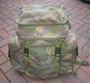 BRITISH ARMY SURPLUS ISSUE INFANTRY BERGEN LINER,LONG-SHORT BACK G1,OLIVE GREEN