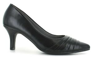 NEW-womens-shoes-BLACK-size-12-M-classic-2-5-034-heels-STACY