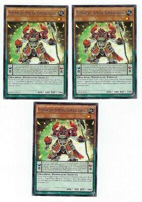 Details about  /3x Super Strong samurai general Coral Bosh-de011 Mint Common Edition German- uflage,Common,Mint,Deutsch data-mtsrclang=en-US href=# onclick=return false; show original title 1