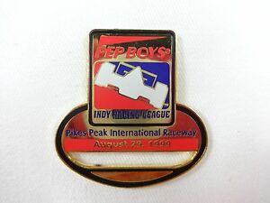 1999-Pep-Boys-Indy-Racing-League-Pike-Peak-Raceway-Collector-Event-Pin-August