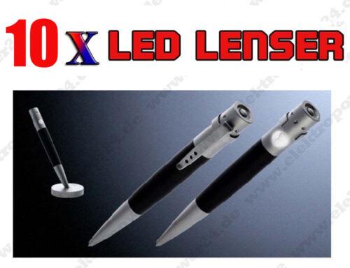 10x LedLenser Light Pen Pisa Stift m Lampe Kugelschreiber 7572 getrocknete mine