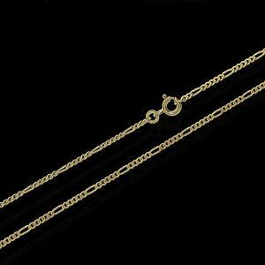 Figaro-333-gelb-Gold-Kette-50-cm-Halskette-Collier-1-85mm-Breit-Panzerkette-3720