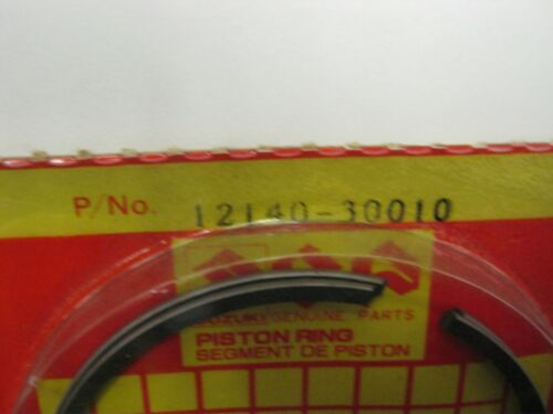 TX GENUINE PISTON RINGS STANDARD SUZUKI TS250 ER,ERN,ERX,