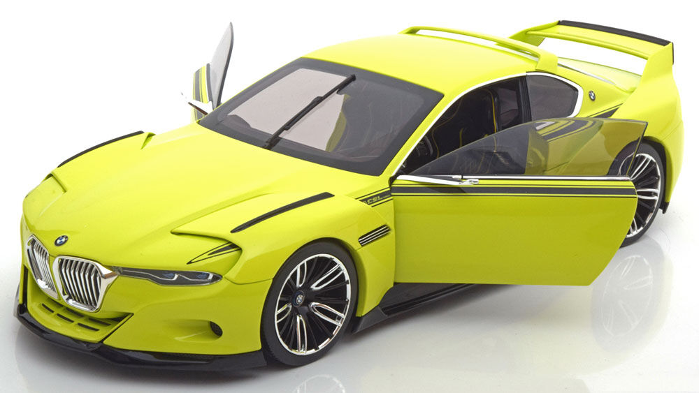 ahorra hasta un 50% Norev BMW 3.0 Csl Homenaje verde Claro Dealer Dealer Dealer Edition 1 18 Escala Nuevo  en  disfruta ahorrando 30-50% de descuento