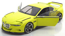 Norev BMW 3.0 CSL Hommage Light Green Dealer Edition 1/18 Scale New! In stock!