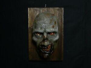 Lifesize Mask 1:1 Horror Mask Zombie Mask Twd Halloween Zombie Masken Zombie SorgfäLtige Berechnung Und Strikte Budgetierung Filme & Dvds