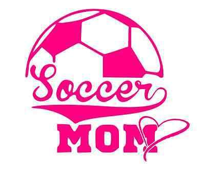 FOOTBALL MOM Vinyl Decal Window Sticker Car Auto son parent school spirit