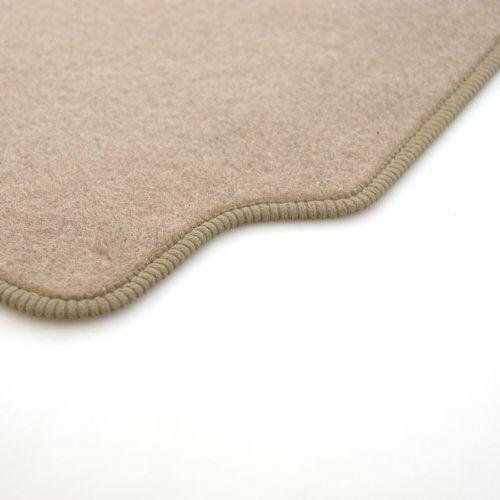 01-06 Perfect Fit Beige Carpet Car Mats for Lexus LS 430 with Black Ribb Trim