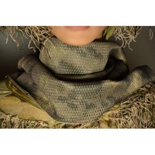 Schal Kopftuch Aktivitäten Tarnung Netzmaterial Kopfbedeckung Heiß Verkauf