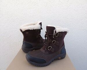 0ce042d1752 Details about UGG OSTRANDER STOUT BROWN eVENT WATERPROOF WINTER SNOW BOOTS,  US 7/ EUR 38 ~NEW