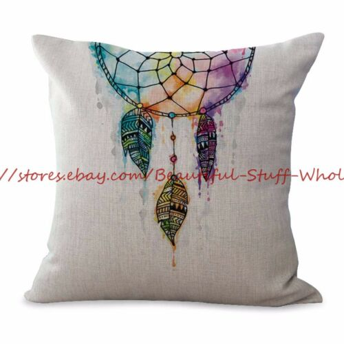 US SELLER-10pcs cushion covers native Indian dream catcher covers for throw