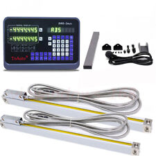 10amp40 Ttl Linear Scale2 Axis Dro Digital Readout Encoder Mill Lathe Machine