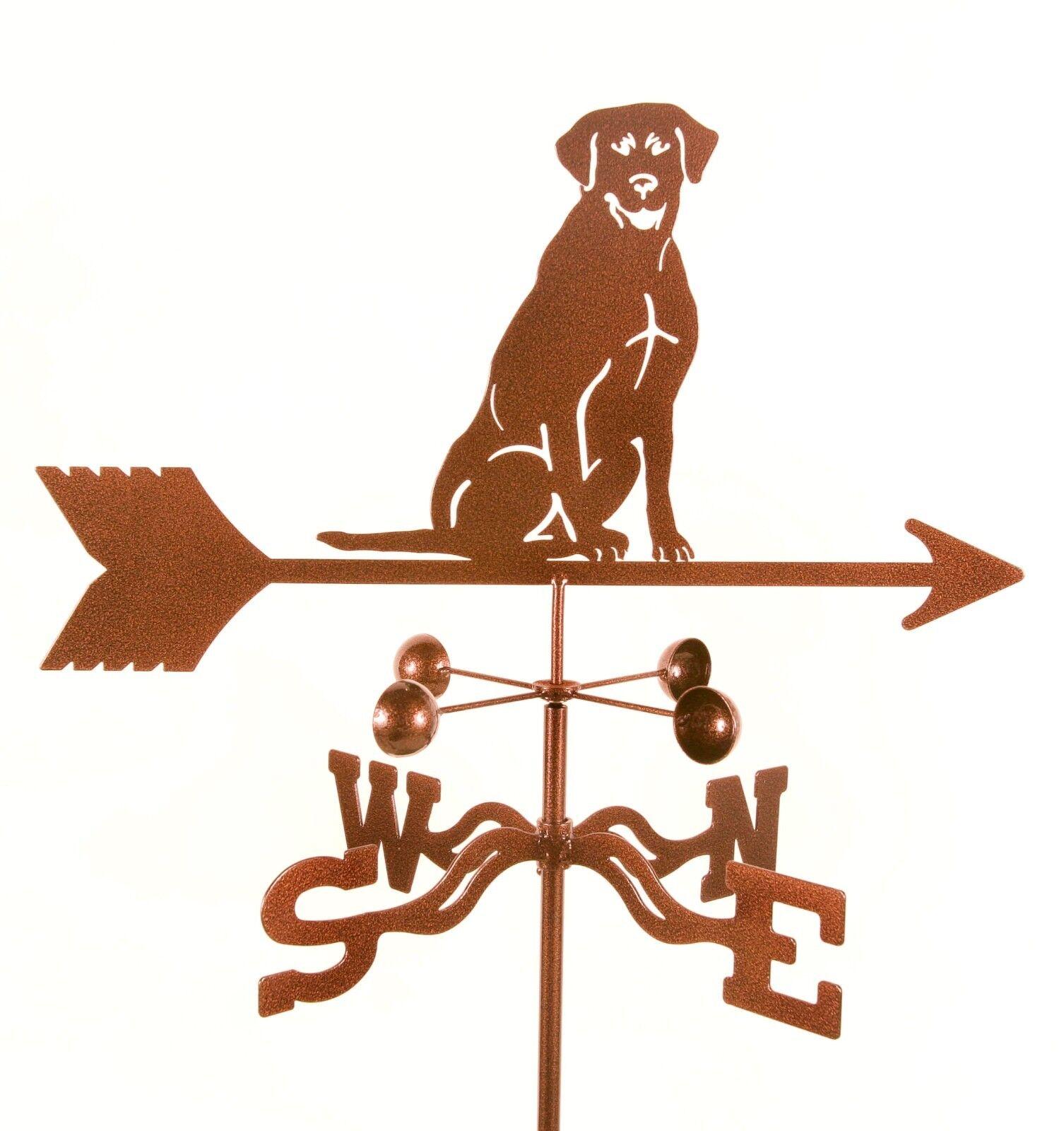 Dog - Lab, Labrador Retriever Weathervane - Vane - Complete w/ Choice of Mount