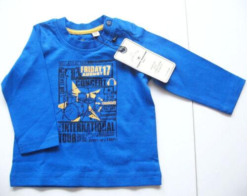 LA Shirt Gr.62 Tom Tailor NEU m.E blau music baby