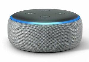 NEW-Amazon-Echo-Dot-3rd-Generation-w-Alexa-Voice-Media-Device-Gray