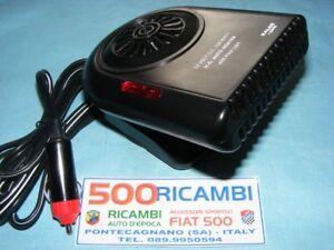 FIAT-500-F-L-R-126-SCALDINO-ELETTRICO-SBRINATORE-ARIA-CALDA-PRESA-ACCENDISIGARI