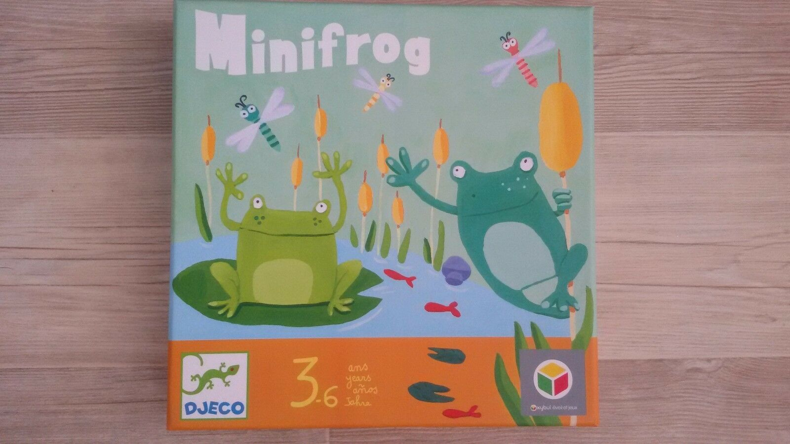 Minifrog game djeco observation game - 3-6 years-occasion complete vgc