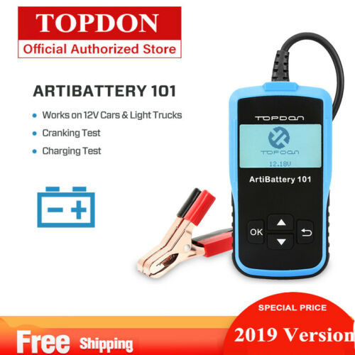 12V Car Battery Analyzer Load Tester 100-2000 CCA Automotive Bad Cell Test Tool