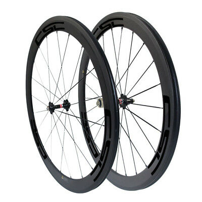 CSC 23mm Width 50mm Clincher Carbon Road bike wheels carbon bicycle wheelset