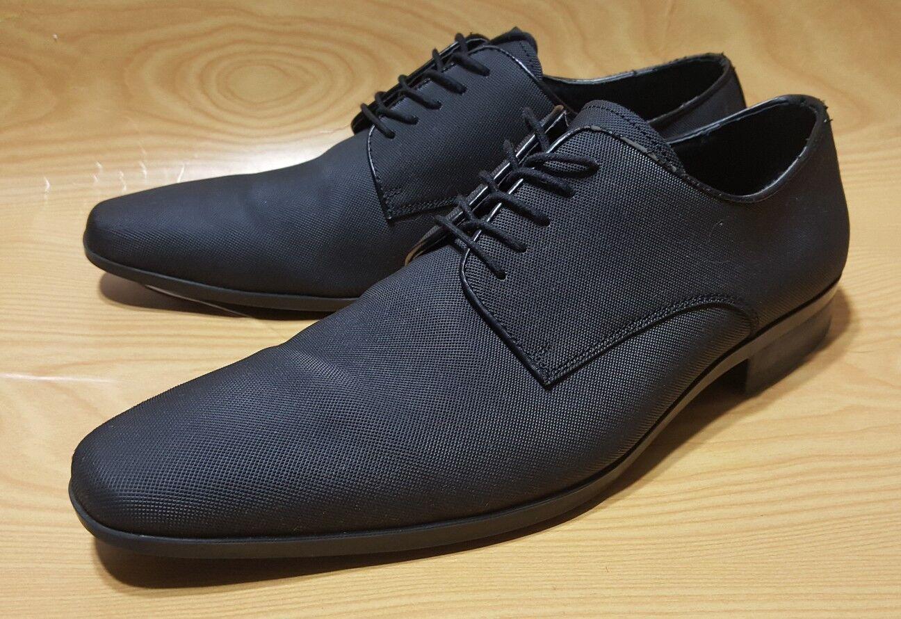Aldo Black Derby Oxfords Mens Dres shoes Size 13
