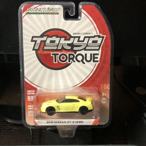 R35 Greenlight1:64 Tokyo Torque Series 7-2016 Nissan GT-R IN STOCK