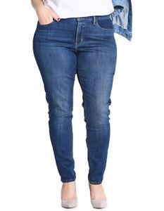 0dfa1f9ed3d15 NEW Levi's Plus 310 Shaping Super Skinny Jeans Denim | eBay
