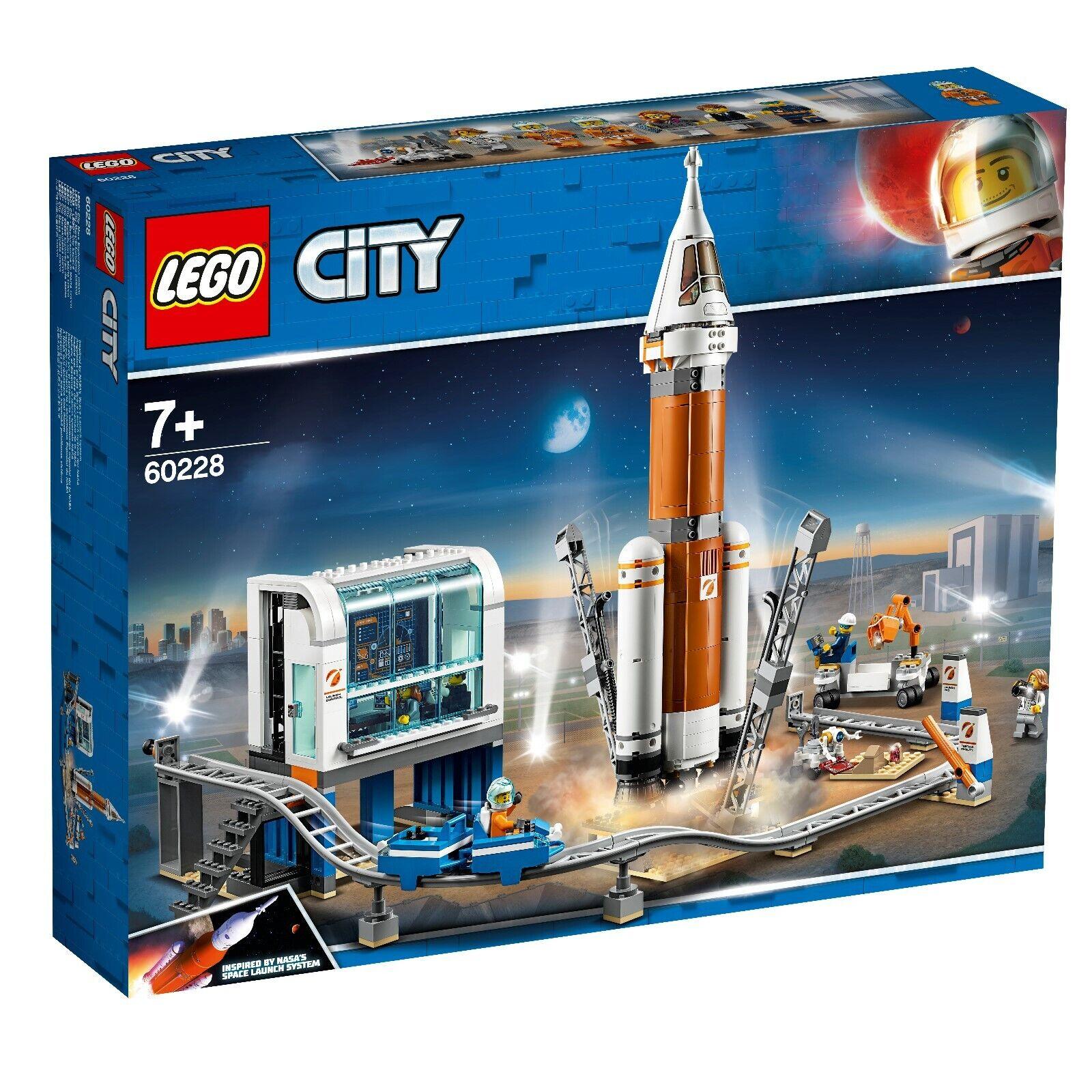 produttori fornitura diretta LEGO ® città spazio port 60228 spaziale razzo con centro centro centro di controllo  economico e alla moda