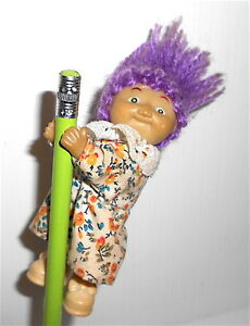 CABBAGE-PATCH-KIDS-80s-Hasbro-clip-puppet-doll-bambola-piccola-clip