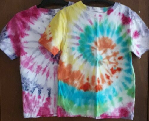 - New Unique Gift Handmade 4-5 yrs Tie Dye T-Shirt Unisex Festival