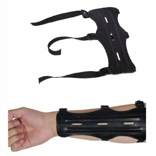 Adjustable Shooting  Arm Protection  Leather Archery Arm Guard Forearm Guard