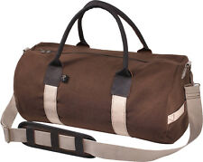 "Canvas Sports Gym Duffle Carry Shoulder Bag & Strap - 19"""