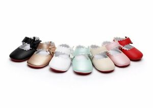Baby Girl Pram Shoes Infant Patent