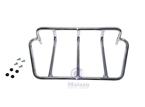 Mutazu Universal DMY Motorcycle Trunk Top Rack Luggage Rail Option 3